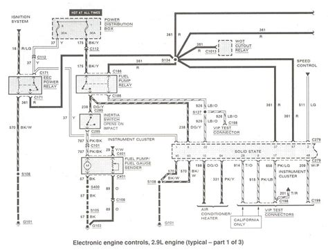 86 Ranger Wiring Diagram by 86 Ranger Fuel System Ford Truck Enthusiasts Forums