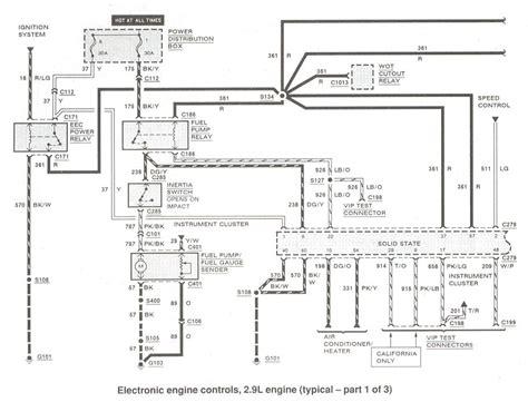 Bronco Fuel Pump Spark Issues Low Voltage