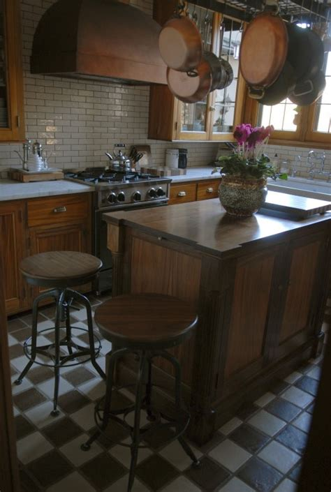 white subway tile  brown grout  pick   brown