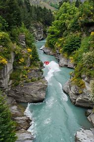 New Zealand Shotover River
