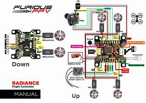 Furious Fpv Radiance Flight Controller  Fpv