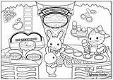 Coloring Calico Pages Coloriage Ice Cream Critters Alice Wonderland Sylvanian Families Cat Printable Flowers Glacier Joli Plage Pour Colouring Picnic sketch template