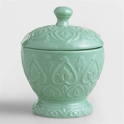 Sea Blue Embossed Ceramic Canister  World Market. Modern Daybeds. Kitchen Chandeliers. Granite That Looks Like Carrara Marble. Landscaping Places Near Me. Hobo Bathroom Vanities. Folding End Table. Craftsman Outdoor Lighting. 8 Person Table