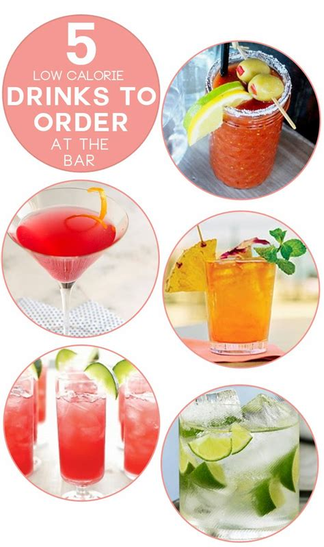 Top Drinks To Order At A Bar - 5 low calorie drinks to order at the bar charmingly styled