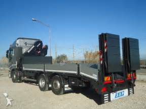 Camion Iveco Stralis STRALIS AS 260S42 GRU + PIANALE