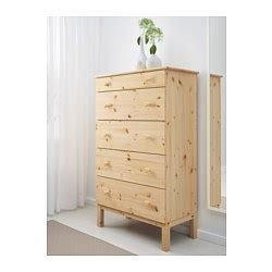 ikea tarva 5 drawer chest 99 made of solid wood