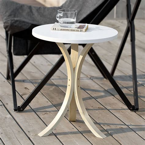 simple modern wooden small  table coffee table small living room side table  colors