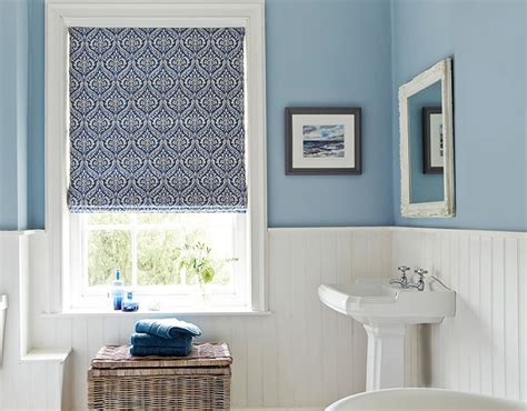 patterned bathroom schemes  english home