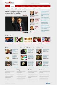 news portal website template web design templates With news site template free download