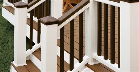 tone railing backyard deck pinterest