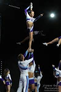 Bow N Arrow Cheerleading Stunt