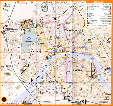 Carte Italie Ville Pise by Large Pisa Maps For Free And Print High