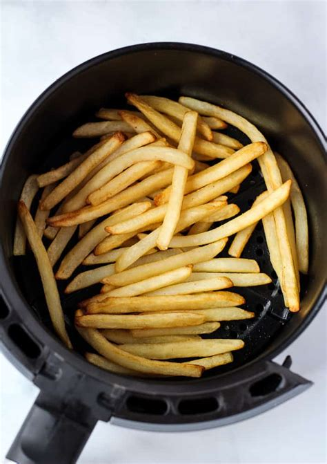 fries french frozen air fryer recipes keepingthepeas vegan fry cooking oil yummly tweet olive