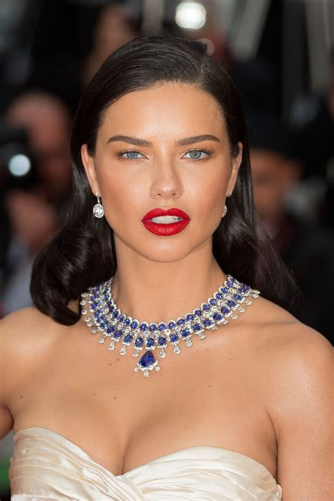 Adriana Lima Burning Premiere Annual Cannes