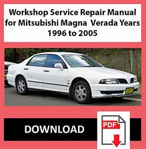 Workshop Service Repair Manual For Mitsubishi Magna