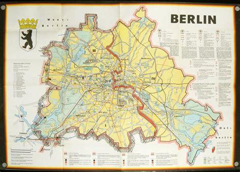 berlin map  wall