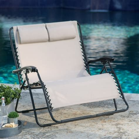 zero gravity chaise lounge coral coast loveseat chair