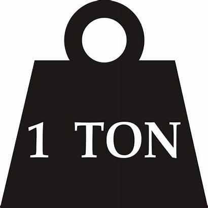 Ton Weight Svg Wikimedia Commons Wiki