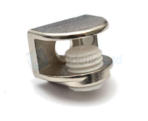 Supporto Mensola Vetro by 1 X Vetro Mensola Supporto Staffa Staffe Nickel Ebay