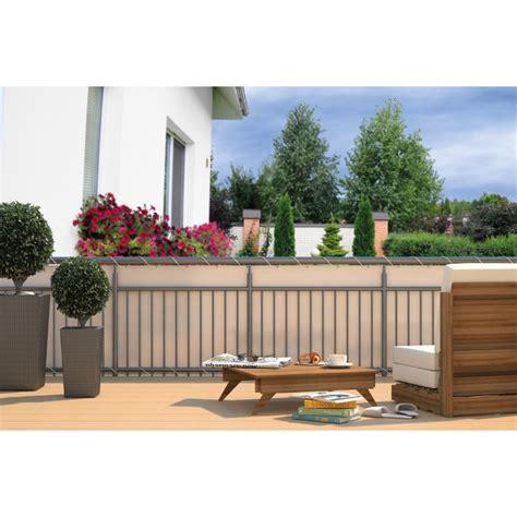 Balkon Sichtschutz  Sichtschutzplane für Balkon Geländ