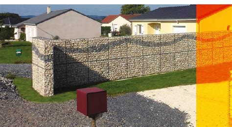 gabions optimized murs de type cloture