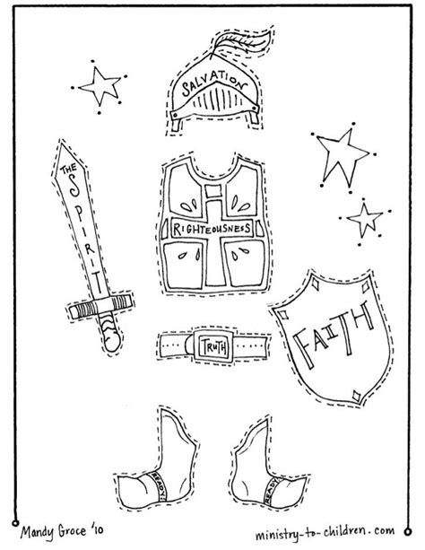 armor of god coloring pages armor of god coloring sheet sketch coloring page