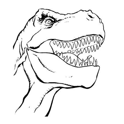 Kleurplaat Dino Rex by Leuk Voor T Rex