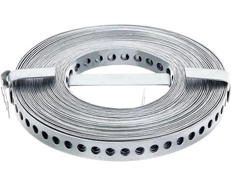 lochband und montageband  mm   rolle verzinkt