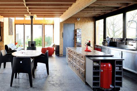 banquette cuisine maison atelier d 39 artiste industriel cuisine lyon