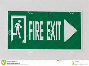 Fire Exit Royalty Free Stock Image - Image: 32708676