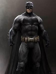 Concept Art For Ben Affleck's BATMAN Released