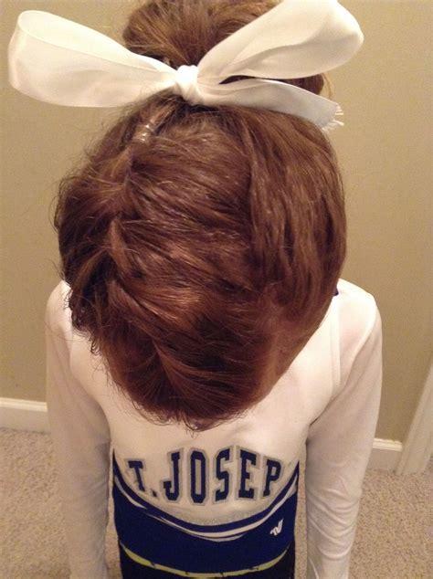 cute cheer hairstyle cheer cheer hair hair styles