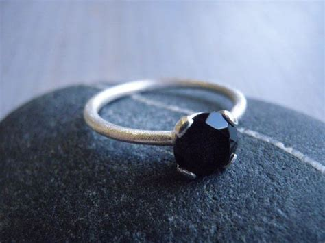 onyx engagement ring ideas  pinterest black