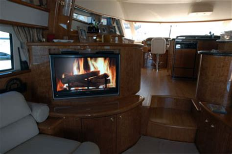 Boat Fireplace by Ambient Fireplace Dvd Premium Fireplace Dvd