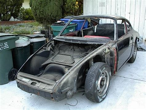 1967 Porsche 912 Rolling Chassis For Parts Or Restoration