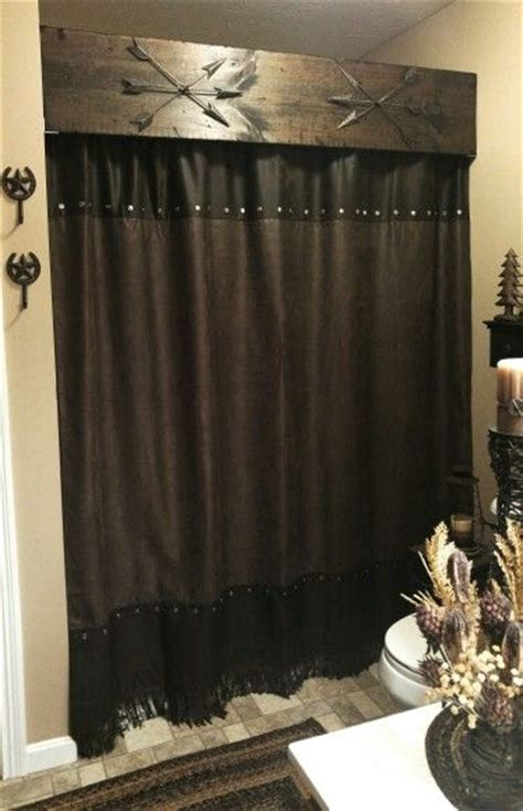 best 25 rustic shower curtain rods ideas on