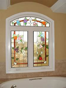 five ways to lift the curtains from your window With stained glass window designs home