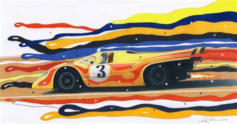 porsche 917 art psychedelic porsche 917 by klem on deviantart