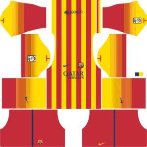 Barcelona Kits 2014/2015 - Dream League Soccer - Kuchalana
