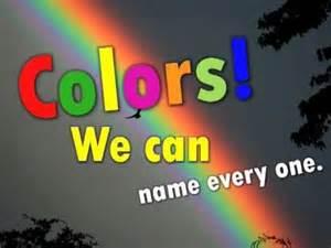 Kindergarten Color Songs YouTube