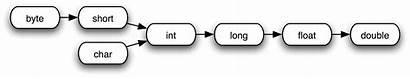 Java Float Types Casting Double Implicit Primitive