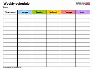 Class Timetable Generator In Excel