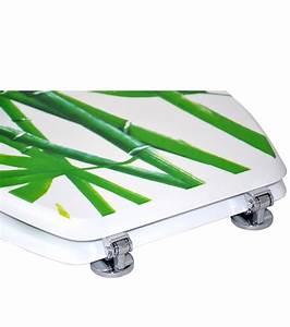 Toilettendeckel Bambus Absenkautomatik : wc sitz bambus gr n ~ Indierocktalk.com Haus und Dekorationen