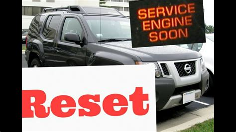 2005 nissan frontier service engine soon light 2005 nissan xterra service engine soon light reset