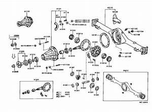 Toyota 4runner Final Gear Kit  Diff