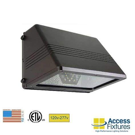 outdoor led flood light fixtures 35w cutoff wall pack 120 277v led ship