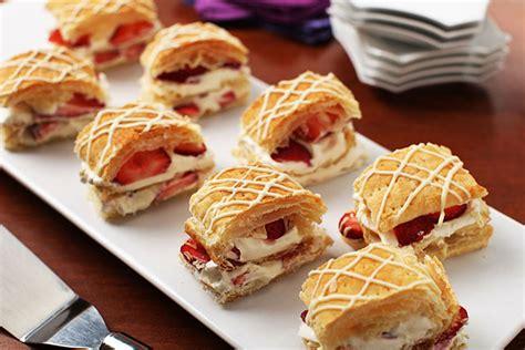 Strawberry-White Chocolate Napoleons - Kraft Recipes