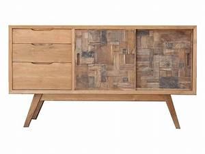 Mobilier Bois Design : mobilier scandinave meuble tv bahut commode mathi design ~ Melissatoandfro.com Idées de Décoration