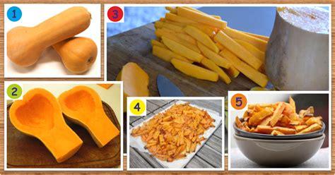 cuisiner une courge butternut recette de frites santé et minceur de courge butternut maigrir sans faim