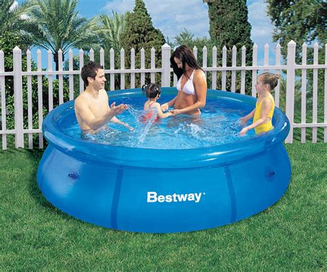 bestway pool ft    fast set inflatable ring